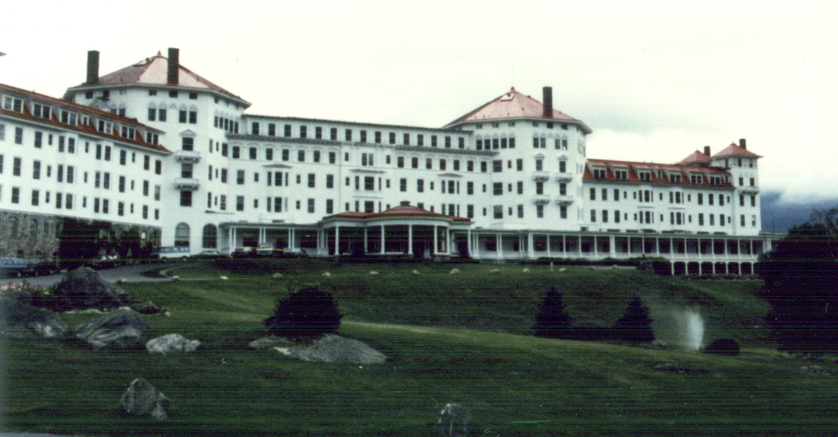 Mount Washington Hotel located at Bretton Woods